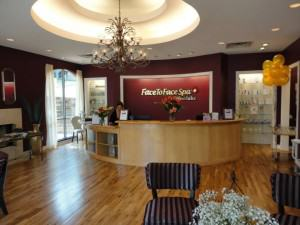 Entrance face to face spa, Westlake Texas