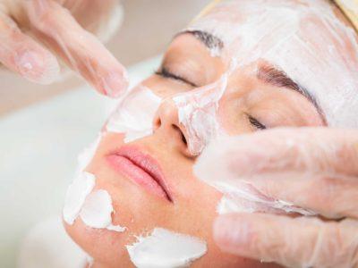 therapeutic skin care facial